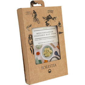 Forestia Heater Outdoor Meal Vegan 350g, Meditteranean Vegetable Rice Stew